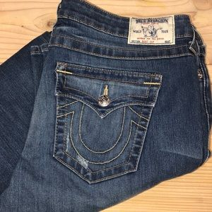True Religion Boot Cut Jeans 34